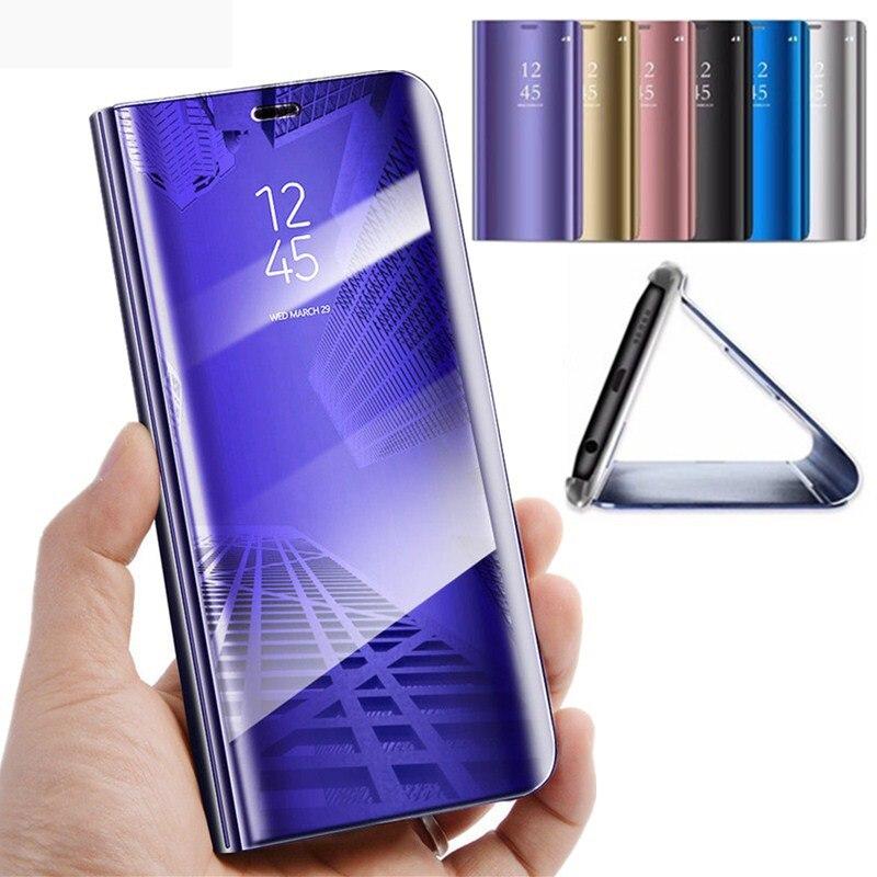 Espejo inteligente Flip caso de teléfono para Samsung Galaxy S10E S10 E Lite vista espejo inteligente tapa flip para Samsung S10 más S10 caso