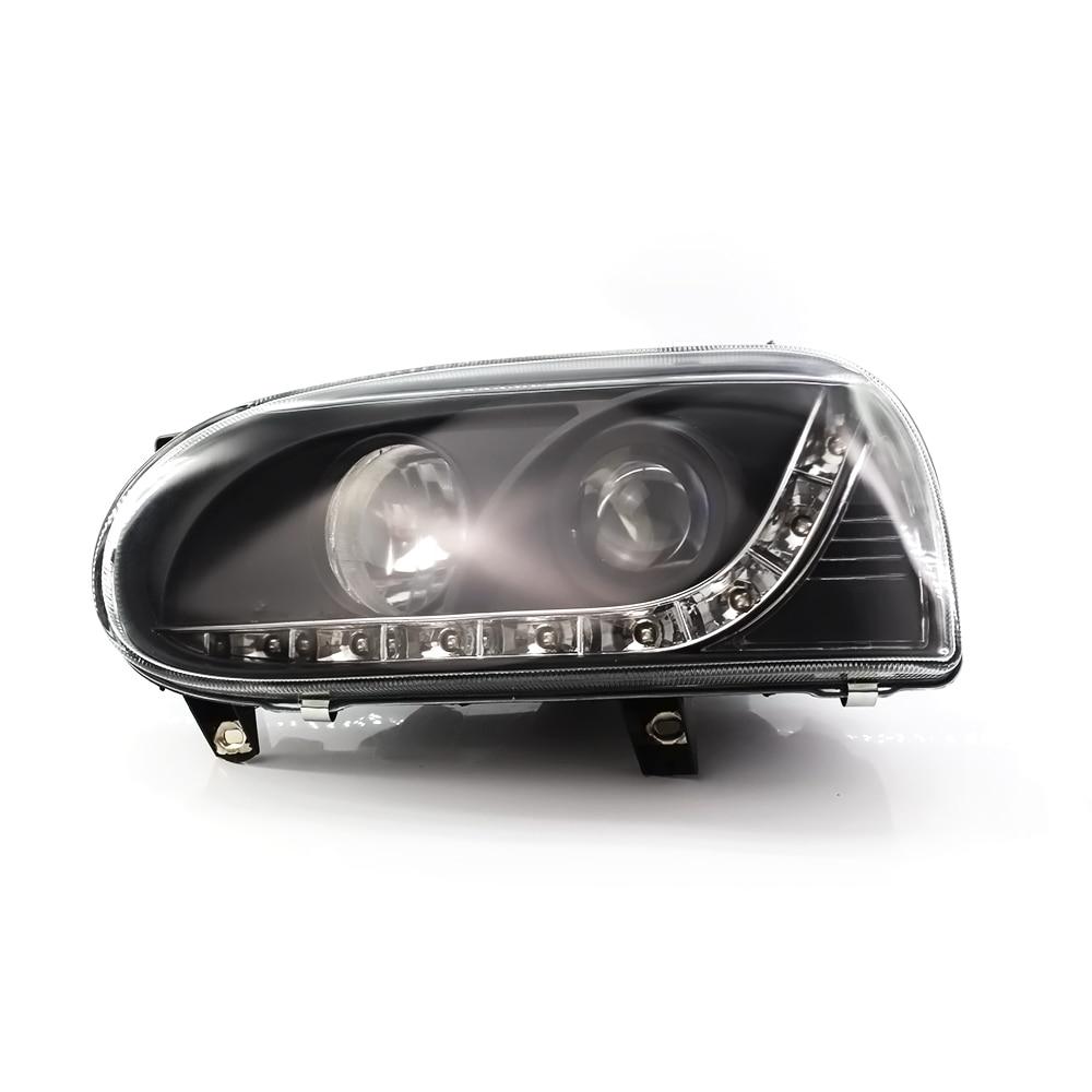 Headlight Assembly For Volkswagen VW Golf MK3 1993~1998 Car Light Assembly DRL Auto Headlamp Front Car Headlights