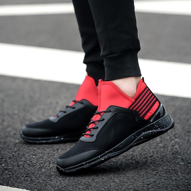 حذاء رياضي رجالي سهل اللبس من cuero أحذية رياضية صيفية غير رسمية أحذية رياضية للرجال موضة 2020 الفقرة الرجالية تخفيضات