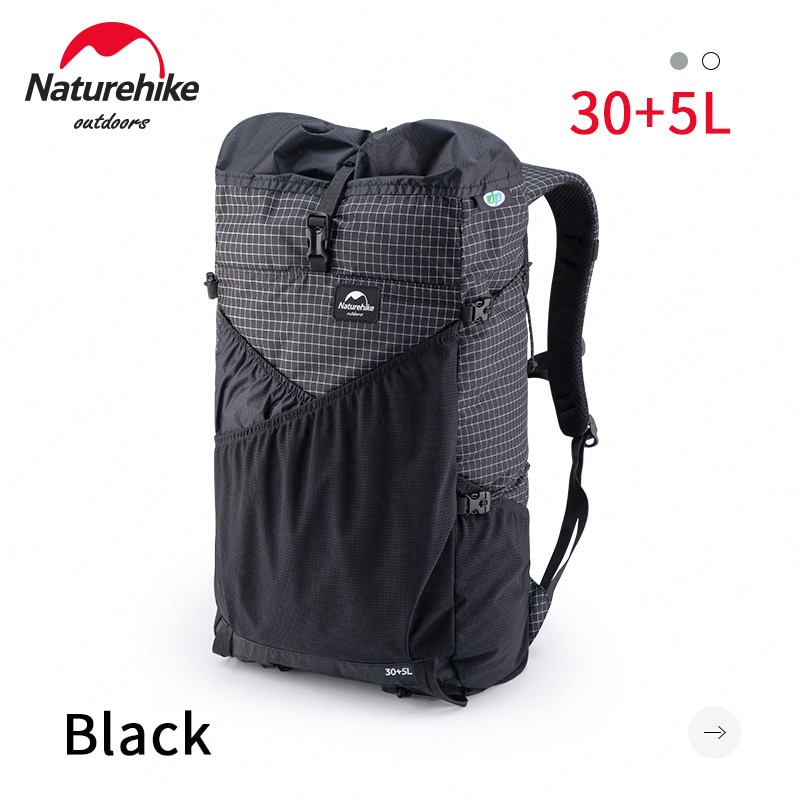Naturehike 30+5L Outdoor Bag Camping Backpack Ultralight 0.6kg XPAC Waterproof Outdoor Sport Hiking Travel Bag With Water Pipe