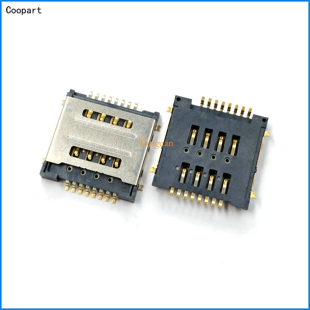 10pcs/lot Coopart New SIM card socket holder tray for Lenovo S660 S686 P90w A780 A520 A529 A580 S850E A690 A800 S720 S720i