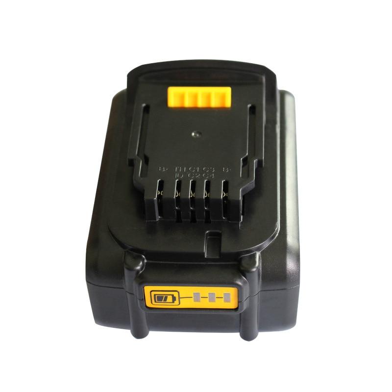 Carcasa de plástico para batería DCB200 (sin batería) placa de circuito PCB para Dewalt 18V 20V 3.0Ah 4.0Ah DCB200 batería de iones de litio