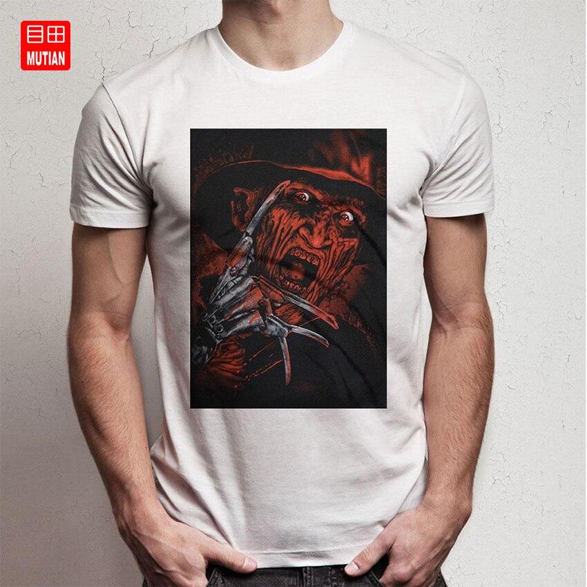 Freddy Krueger, una Pesadilla en Elm, calle, Airbrushed Face, camiseta