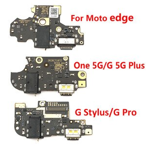 10Pcs/Lot,100% Original For Moto G Play edge One G50 G 5G Plus / G Stylus G Pro /One Hyper USB Charging Connector Plug Port Dock
