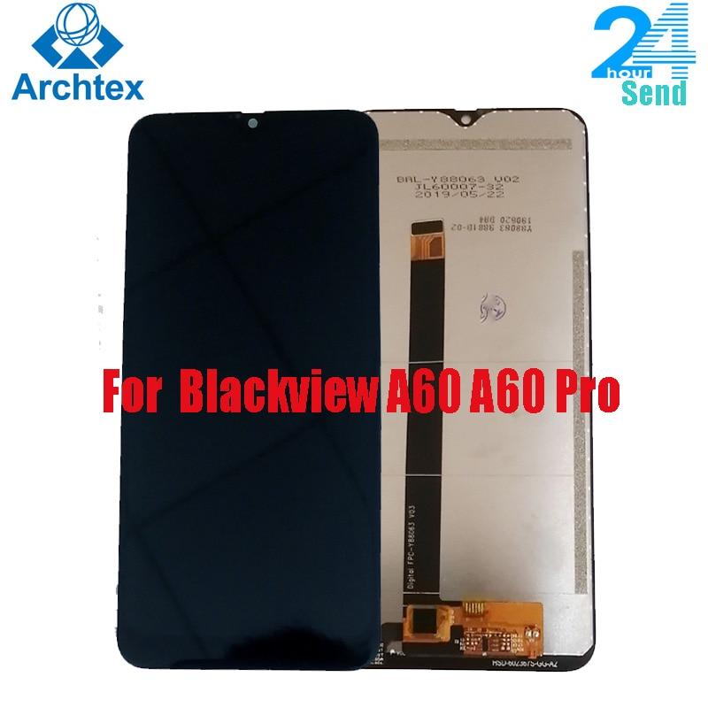 Para Blackview A60 A60 Pro 100% Original pantalla LCD y TP MONTAJE DE digitalizador con pantalla táctil para Blackview A60 Pro 6,1 existencias en pulgadas
