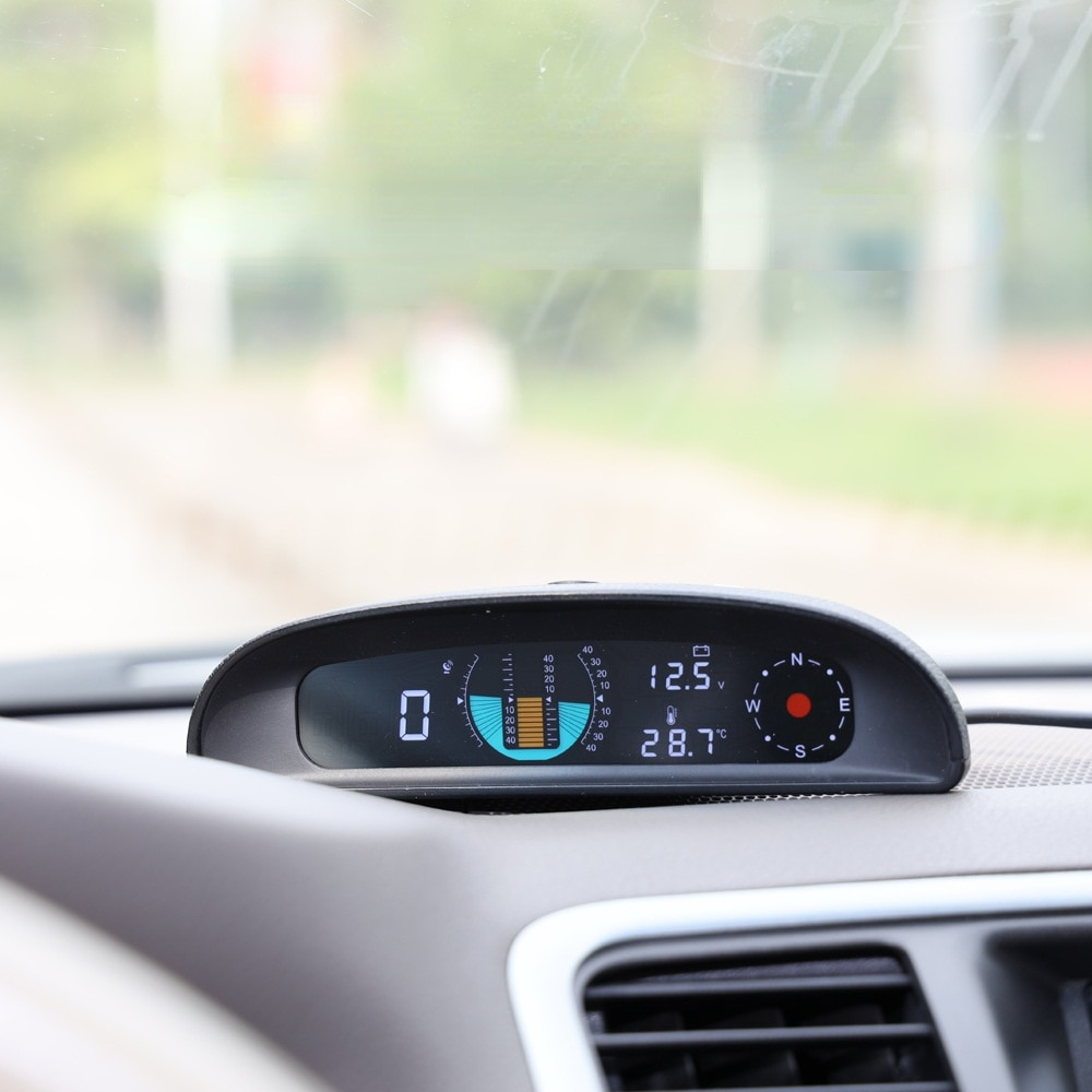 Gh200 Automobile Head Up Display GPS Intelligent Driving Meter Speed Voltage Balance Time on-board Computer Display General enlarge