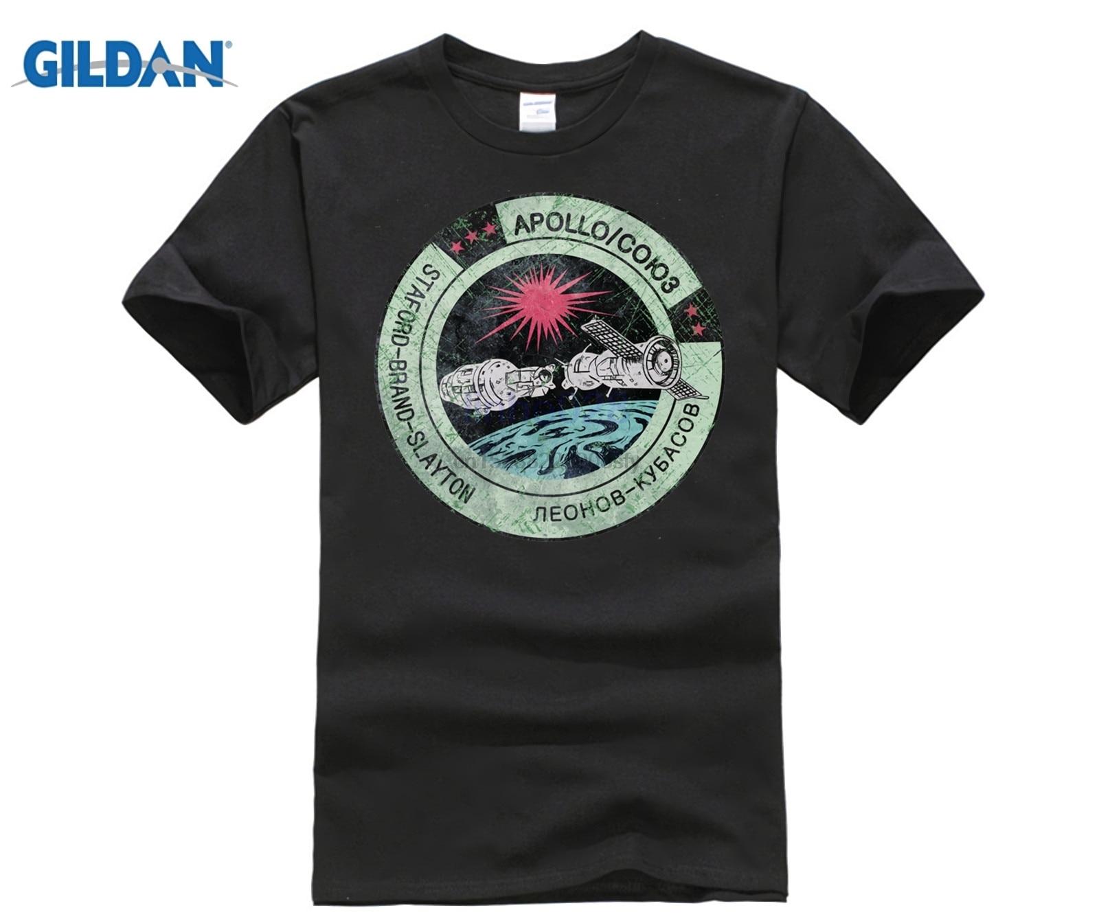 Camiseta Vintage con emblema V02 de Apolo Soyuz