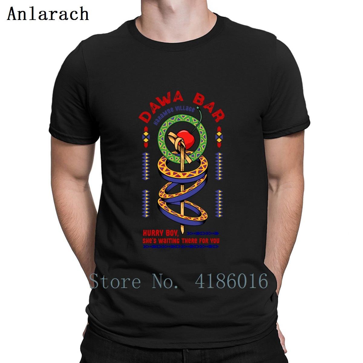 Dawa Toto camiseta alternativa impresión Anti-arrugas patrón letra primavera otoño S-4XL Camisa de algodón transpirable