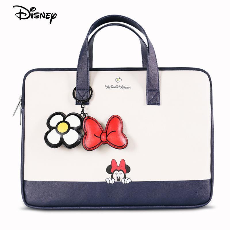 Disney Donald Waterproof Laptop Bag For MacBook Dell Acer Lenovo Asus Notebook Case Cover Huawei HP Women Briefcases Handbag