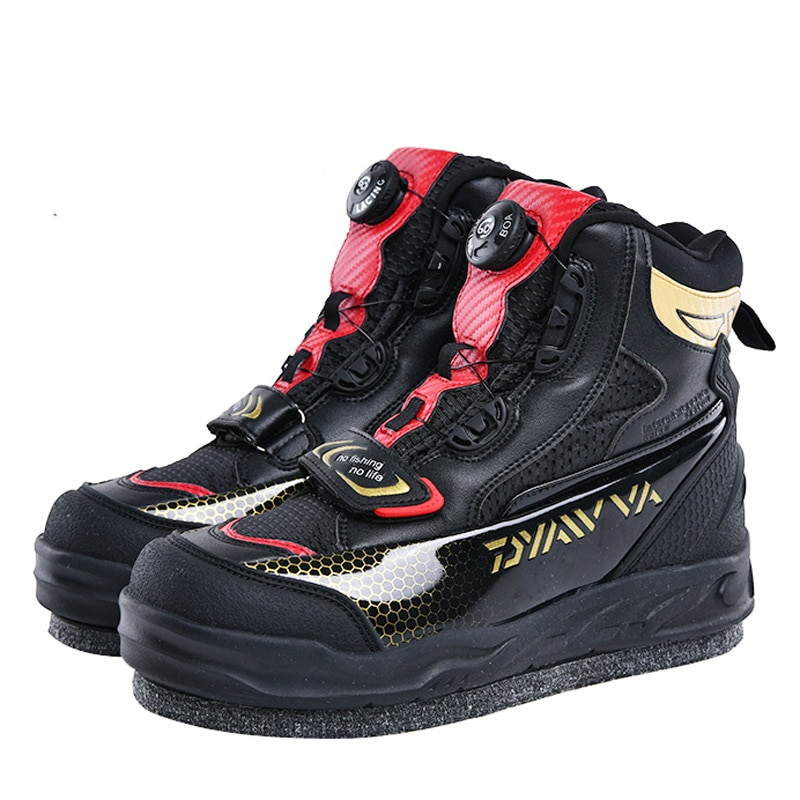 2020 New Brand Fishing Shoes Outdoor Waders Fishing Rubber Boots For Men Breathable Anti-slip Waterproof Fly Fishing Boots 39-45 enlarge
