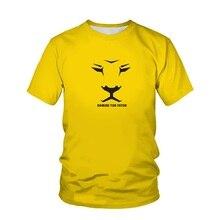 2021 Men's Harajuku 3D Printing T-shirts Cool Men And Women Summer Short-Sleeved Tops T-shirts Fashi