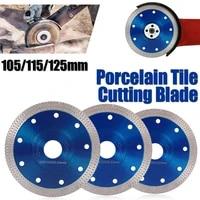 turbo diamond saw blade disc porcelain tile ceramic granite marble cutting blades for angle grinder diamond saw blade 115mm