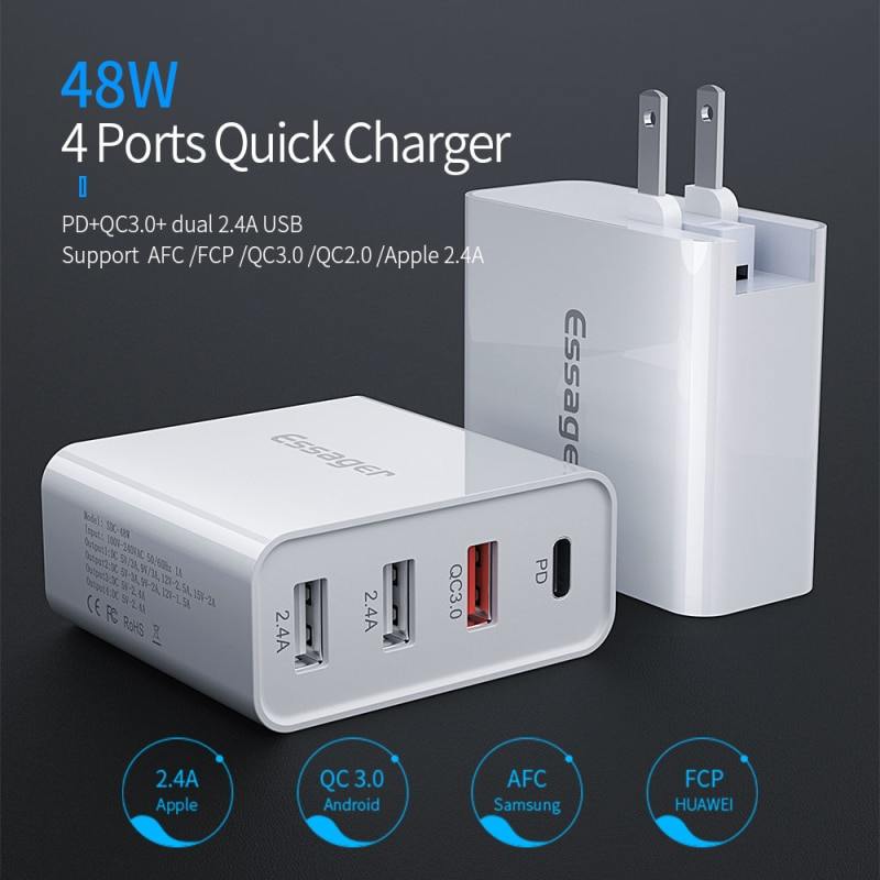 essager-usb-fast-charger-quick-charge-3-0-4-0-universal-wall-mobile-phone-tablet-chargers-for-iphone-11-samsung-huawei-charging
