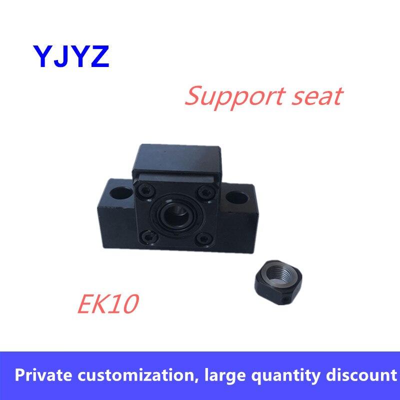 Nuevo soporte de husillo de bolas unidad serie EK10 1 Uds