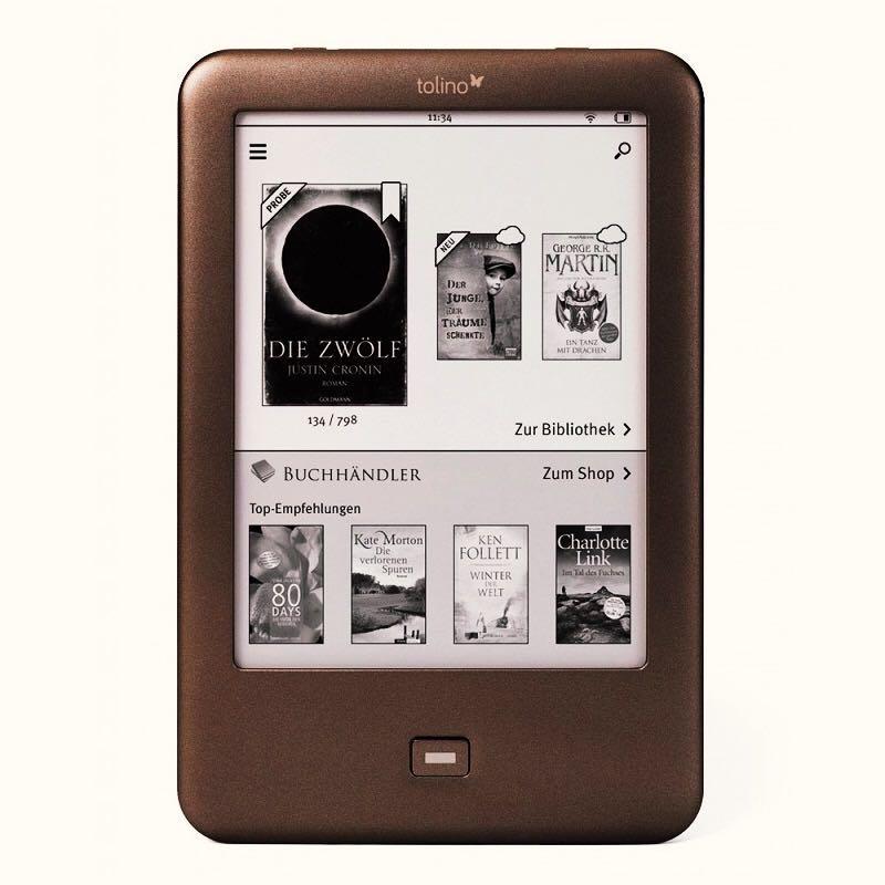 E-Book Reader Gebaut in Licht WiFi ebook Tolino Glanz e-tinte 6 zoll Touch Screen 1024x758 elektronische buch Reader
