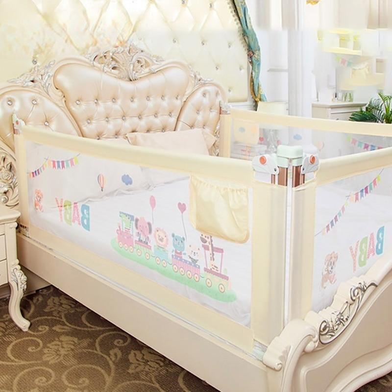 Baby Crib Bed Fence Safety Gate Safety Play Fence Child Fence Crib Railing Crib Fence Household Children Only