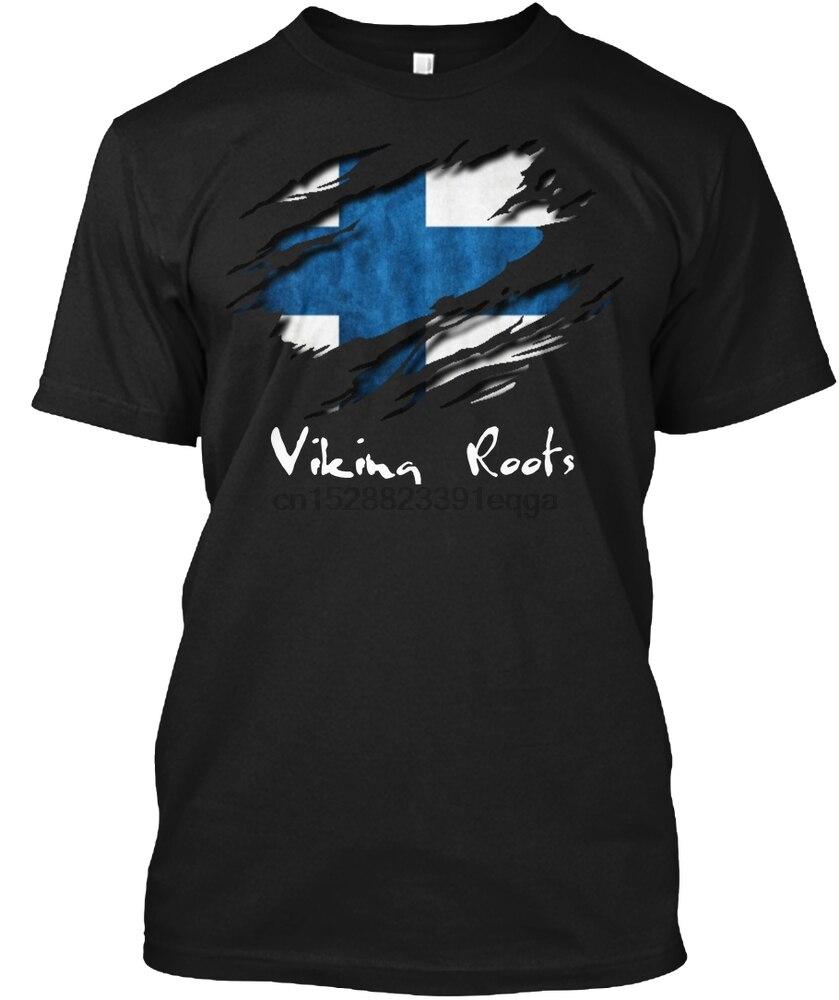 Мужская футболка Viking Roots Finland, женская и Мужская футболка