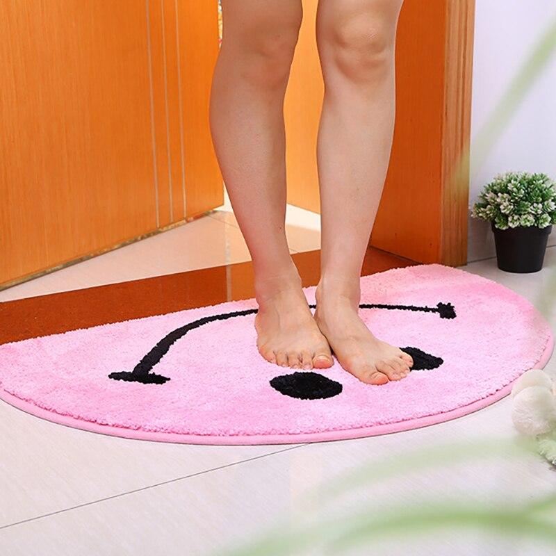 سجادة باب نصف دائرة متعددة الوظائف سجاد أرضية مضادة للانزلاق لينة دائمة مدخل الحمام السجاد غرفة المعيشة اكسسوارات المنزل