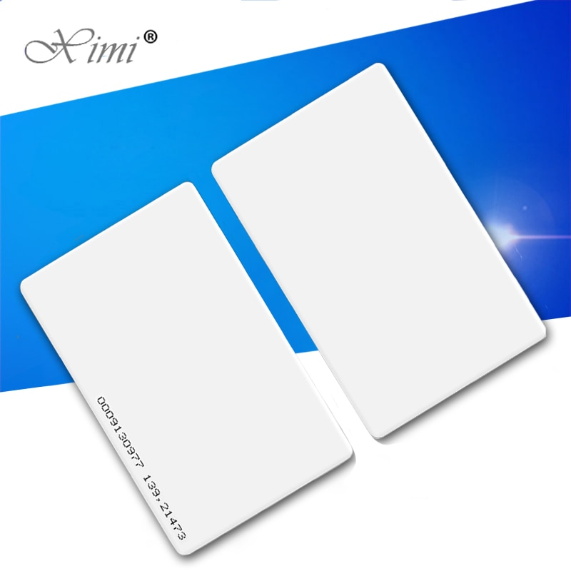 ID/IC Card Smart Proximity Card For Access Control And Time Attendance System TK4100/EM4200/F1108chip125KHZ/MF13.56MHZ RFID Card