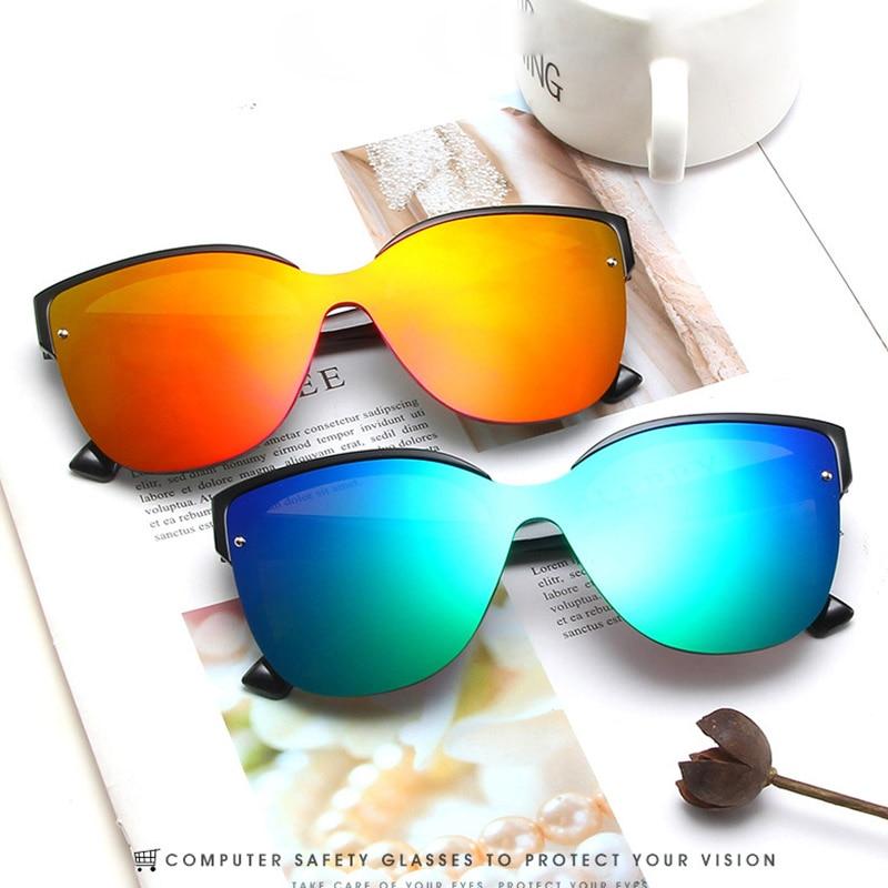 Fashion Sunglasses Women Oversized Glasses Coating Lens Shades For Men Vintage Retro Sun Glasses Lun