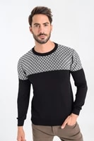 classic mens autumn and winter casual sweater 2020 new warm base coat round neck clothes