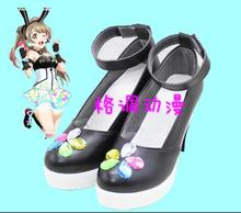 Liebe Live!Anime Cyber ver Honoka Kotori Umi Eli Nozomi Maki Rin Hanayo Nico Cosplay Schuhe Anpassen Kostenloser Versand