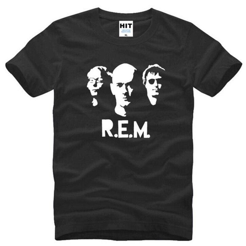 Banda de Pop Rock R E M Camiseta estampada para hombre, camiseta...