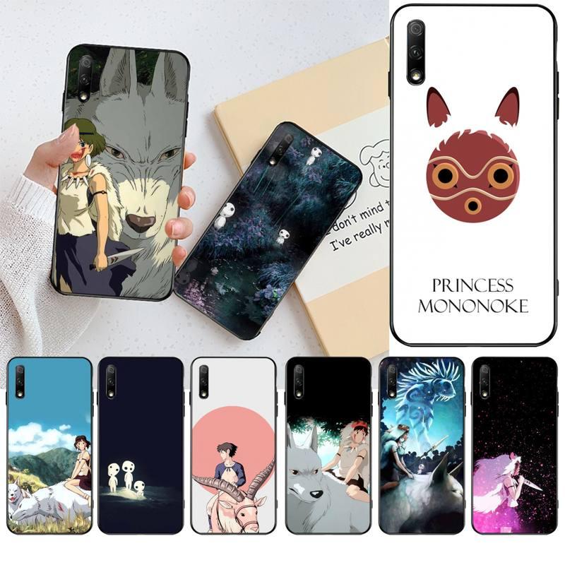 KPUSAGRT японский аниме Принцесса Мононоке роскошный уникальный чехол для телефона Huawei Honor 30 20 10 9 8 8x 8c v30 Lite view pro