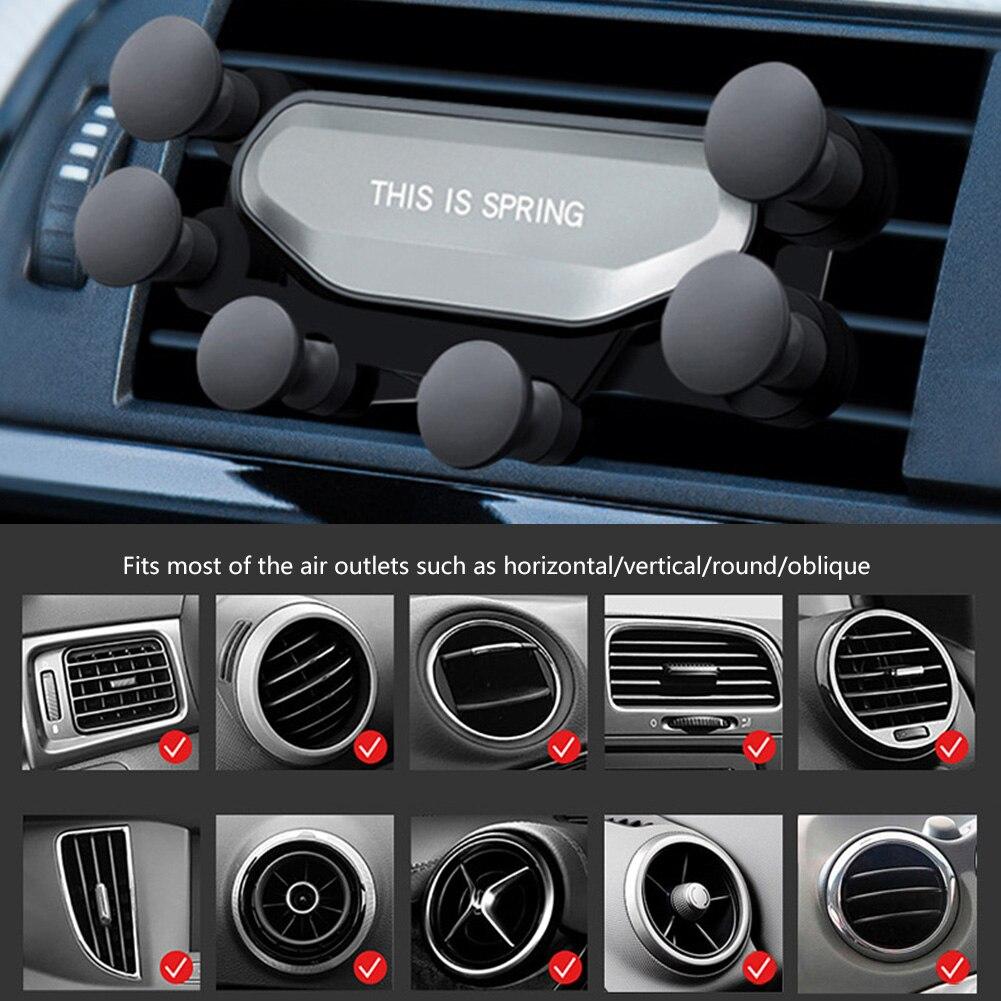 Гравитационный Автомобильный держатель для телефона, подставка для мобильный телефон, переносной Чехол для мобильного, мобильный телефон, ...