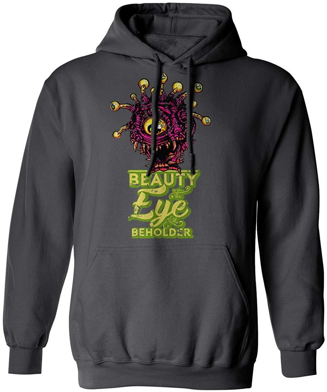 Nova novidade camiseta nova camisa d & d beholder hoodie dos homens com capuz moletom com capuz