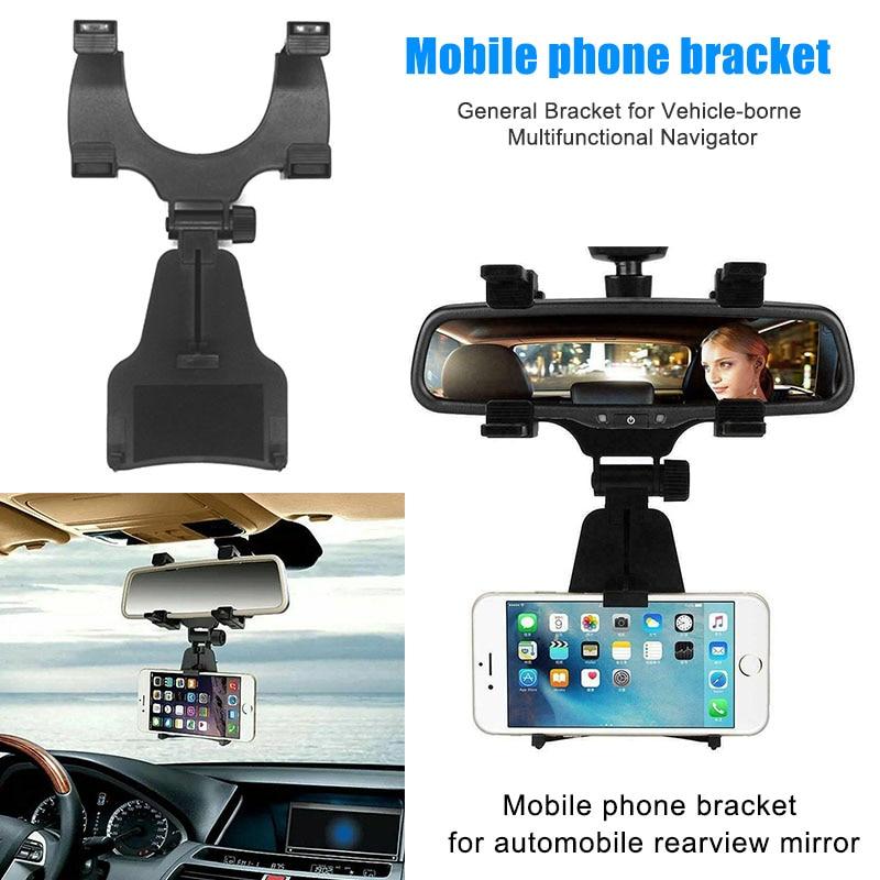 Soporte Universal para espejo retrovisor del coche, soporte para Smartphone, soporte para teléfono móvil XR657