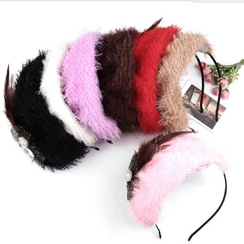 Banderole plume pour femmes   Port gratuit, bandeau fascinateur, couvre-chef, mode