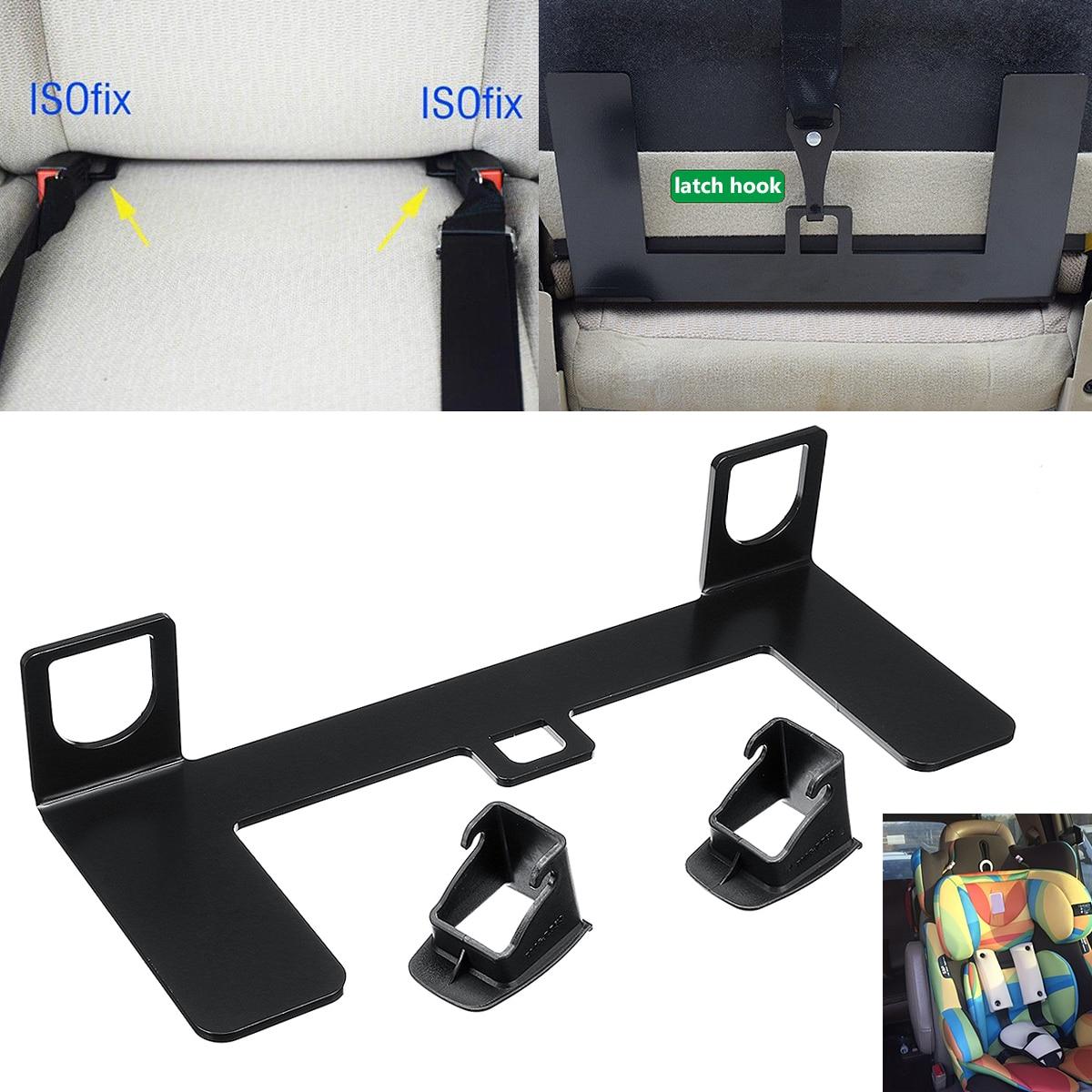 Pestillo Universal de acero ISOFIX de 4mm, hebilla de cinturón de seguridad...