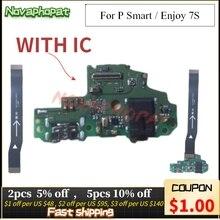 Novaphopat pour Huawei P Smart/profitez du Port de chargeur 7s connecteur principal de charge USB