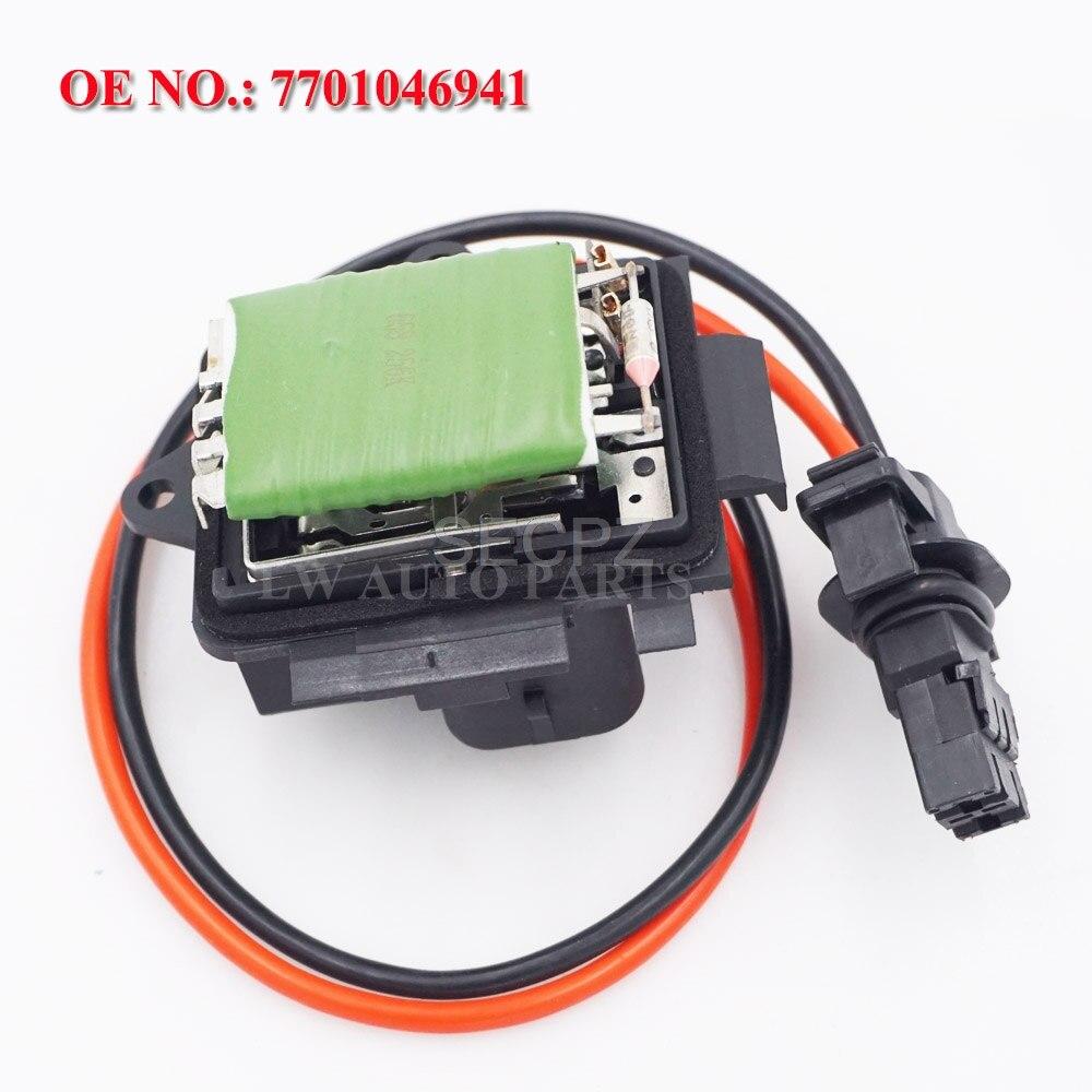 Para RENAULT SCENIC 1999-2003 resistor de motor de ventilador de calefactor reostato 7701046941