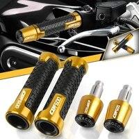 for honda cbf600 cbf 600 nnassa 2004 2013 2005 2006 2007 2012 2011 2010 grips cnc aluminum handlebar motorbike ends non slip