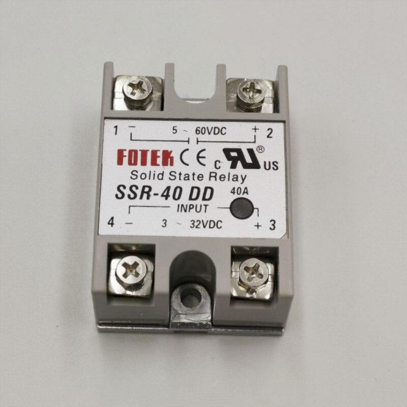 Твердотельные реле FOTEK, 3-32VDC выход 5-60VDC, ssr40dd