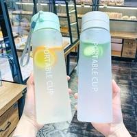 600800ml water bottles girl large capacity direct drinking bottle plastic sports outdoor tea mug transparent for kids bottle