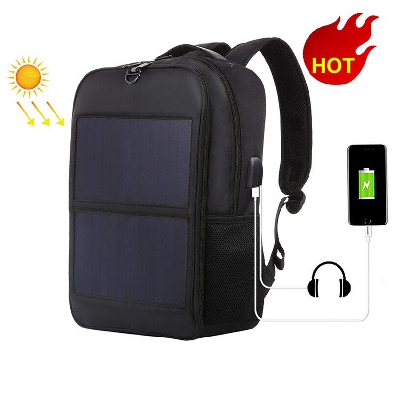 2020 nuevo Casual Haweel Solar Usb cargador paquete al aire libre Mochila...