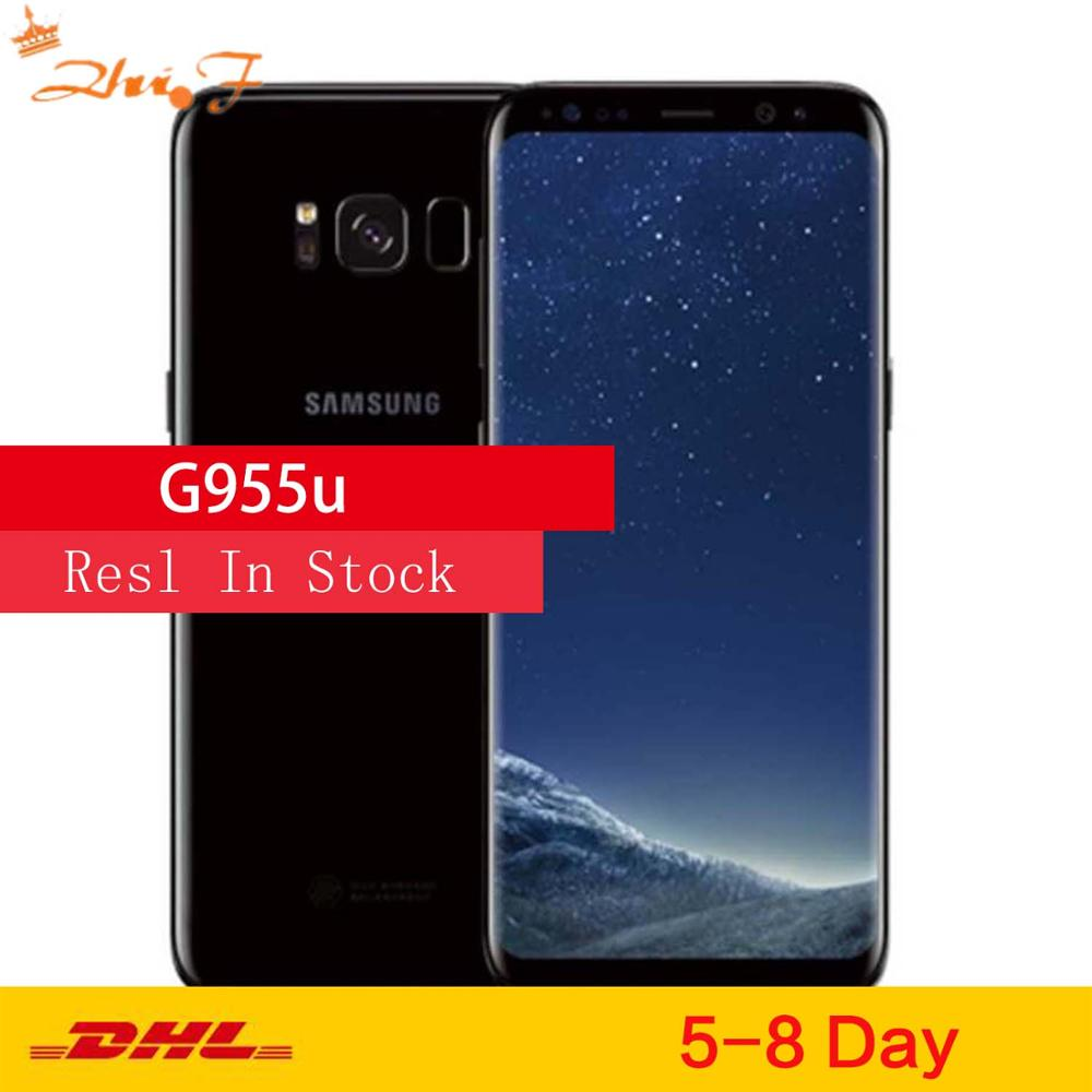 "Samsung Galaxy S8+ S8 Plus G955U Original Unlocked LTE Android Cell Phone Octa Core 6.2"" 12MP RAM 4G ROM 64G Snapdragon 835 NFC"