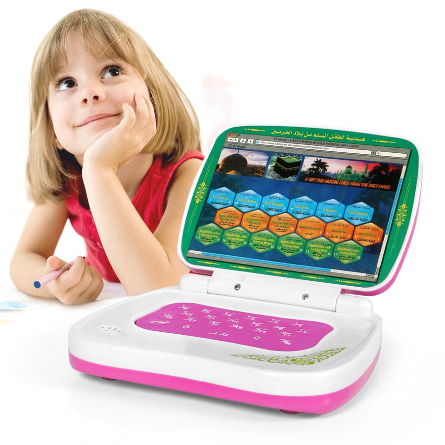 Arabic Language Mini Tablet Computer Toy Learning Machine with 18 Chapters Holy Quran Koran,Early Ed