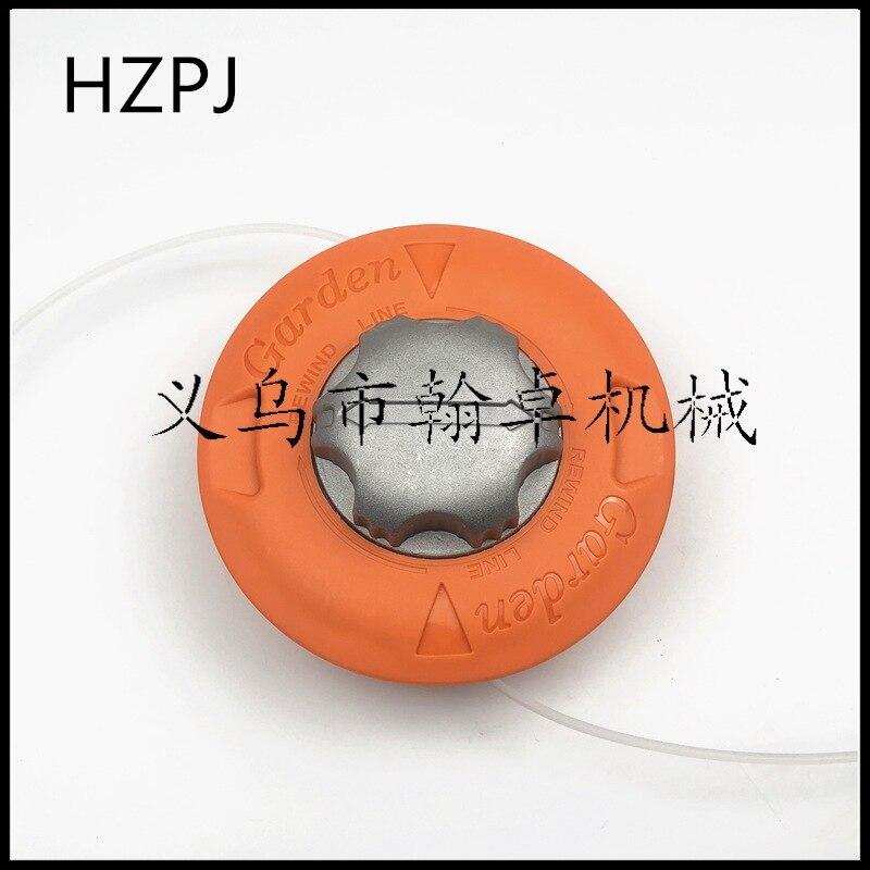 Алюминиевая головка для газонокосилки Omar HZPJ, кусторез с подвижной головкой, аксессуары для газонокосилки