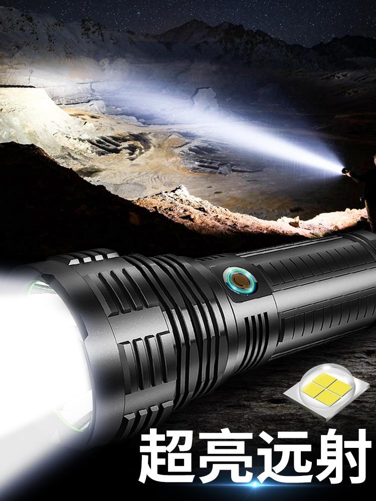 Outdoor Lighting Flashlights High Power Super Bright Flashlights Xenon Aluminum Linterna Potente Home Supplies DI50SDT enlarge
