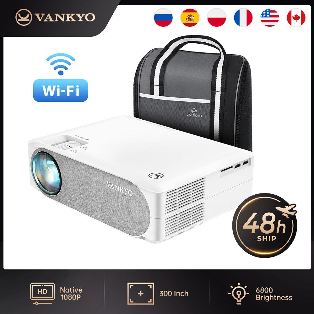 Vankyo-Proyector VF30MQ/VF30WQ Full HD, 1080P, pantalla de sincronización WIFI para cine en...