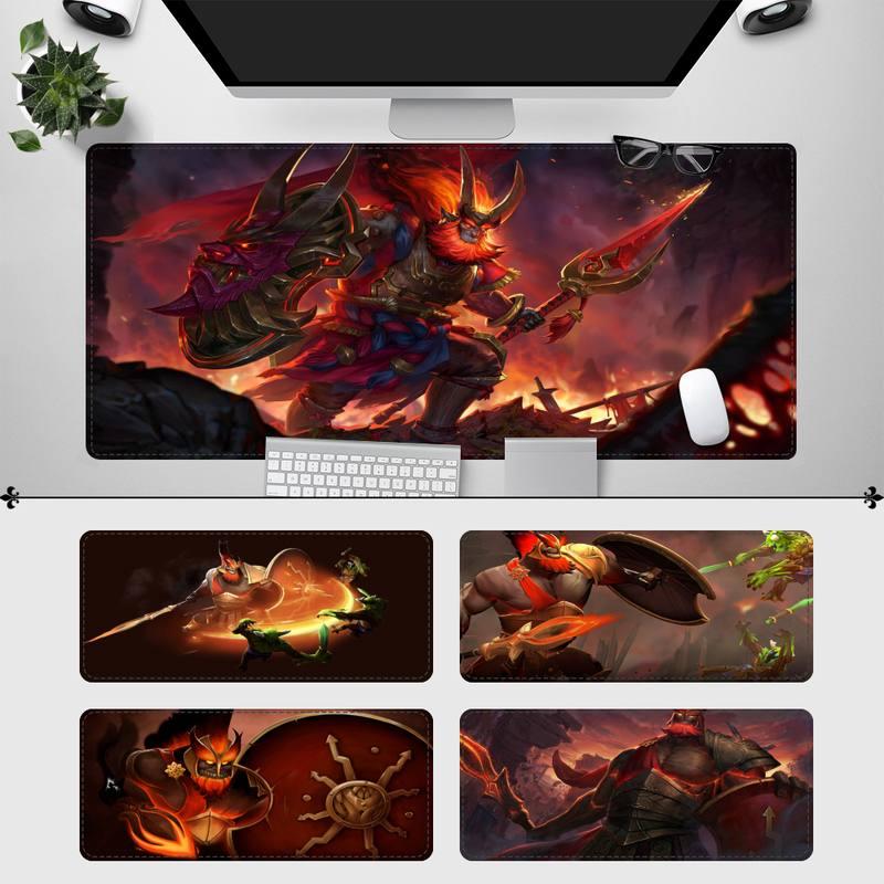 Игровой коврик для мыши с принтом Mars Dota 2, игровой коврик для клавиатуры, Настольный коврик для мыши, игровые аксессуары для Overwatch