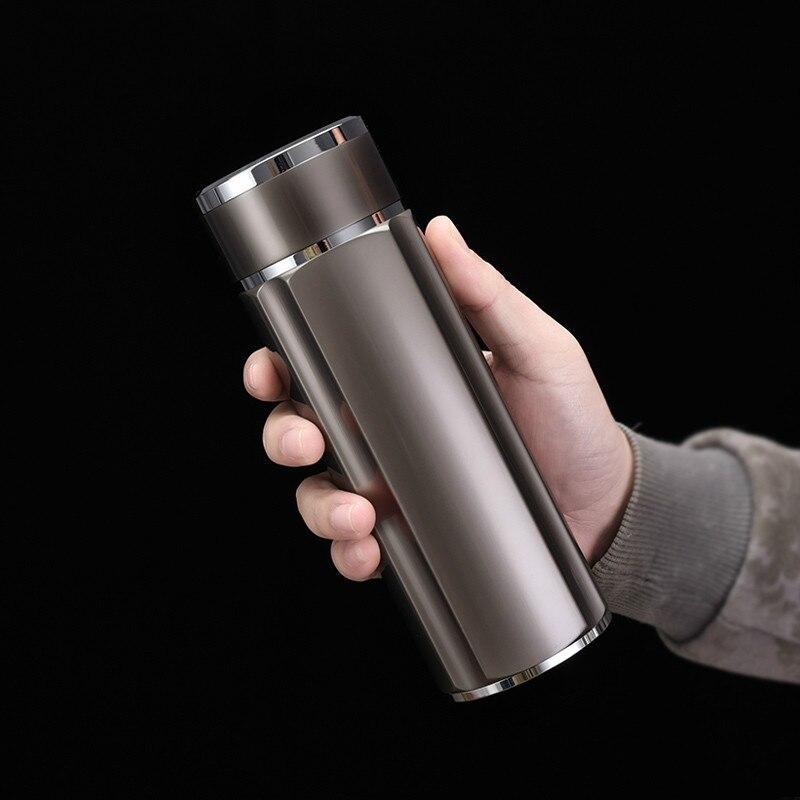 Termos srebro 999 sterling silver liner cup mężczyźni i kobiety biuro biznes puchar