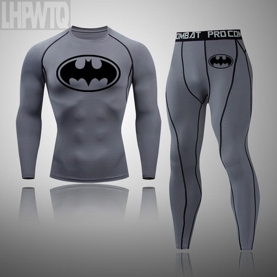 Neue Batman Winter Thermische Unterwäsche Sets Für Männer Winter Thermo Unterwäsche Lange Winter Kleidung Männer Thermische Marke Kleidung