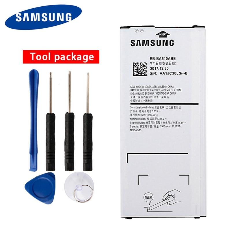 Bateria EB-BA510ABE mah original samsung, bateria para samsung galaxy a5 2016 a510 2016 2900mah