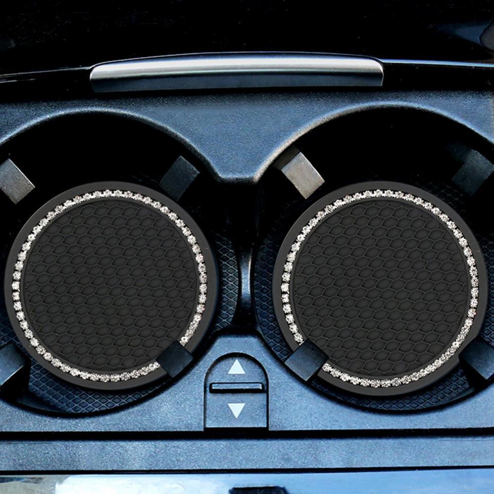 Универсальный автомобильный нескользящий подстаканник 2 шт. подставки автомобильный аксессуар держатель Автомобильный Стайлинг интерьер