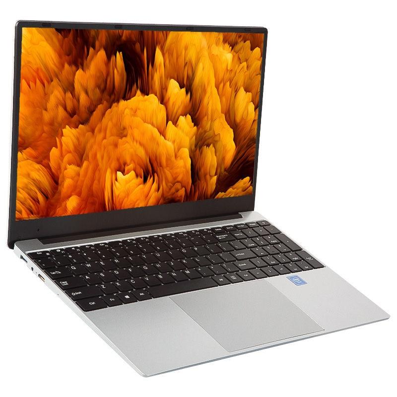 15.6 inch Notebook In tel Cerelon IPS 8GB slim gaming office 512GB computer laptops